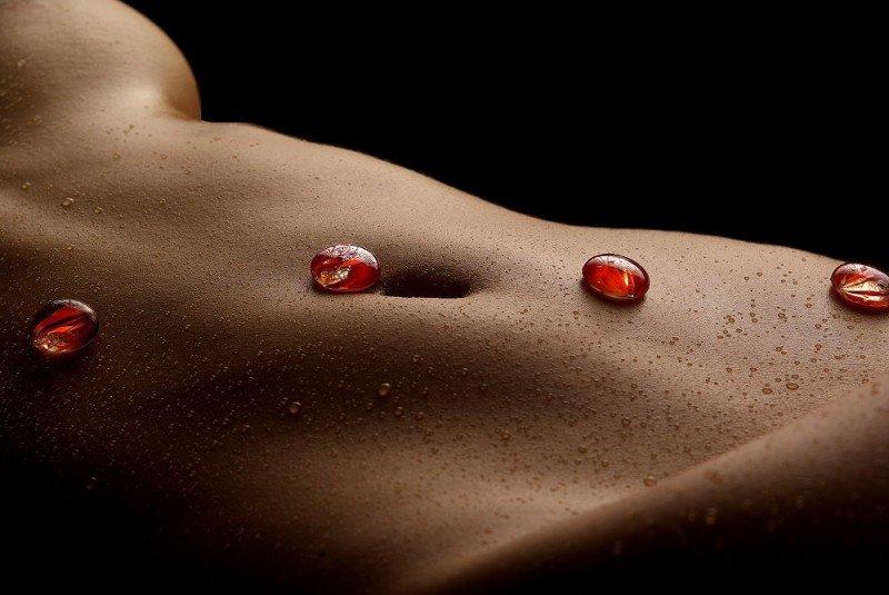 Нагие тела ухоженных баб крупным ракурсом